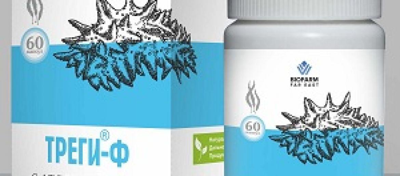«TREGI-F»<br> with calcium alginate (capsules)